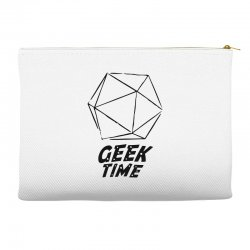 geek time Accessory Pouches | Artistshot