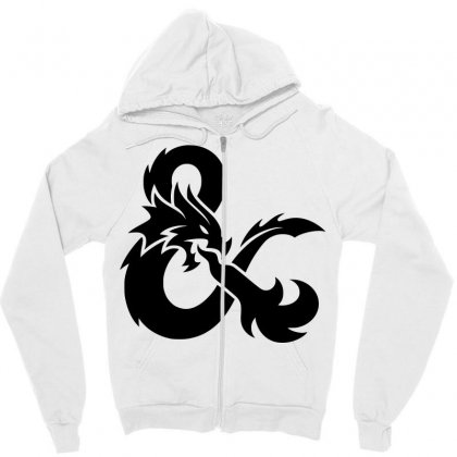 Dungeons And Dragons Zipper Hoodie