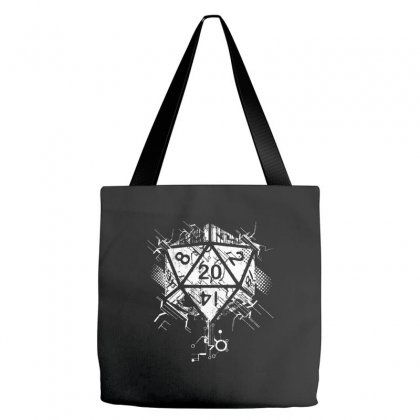 Dungeons And Dragons Dice Art Tote Bags Designed By Sbm052017