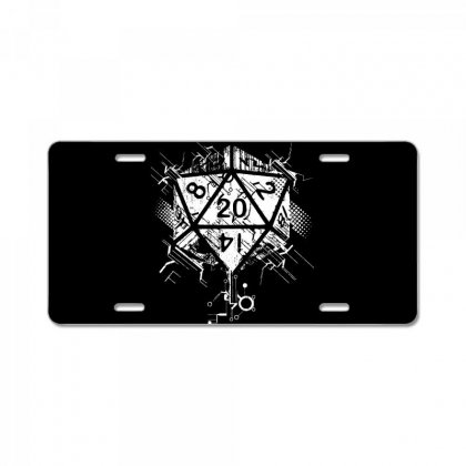 Dungeons And Dragons Dice Art License Plate Designed By Sbm052017
