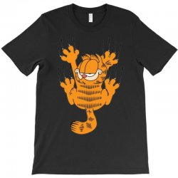 garfield scratching, ideal gift or birthday present funny T-Shirt | Artistshot