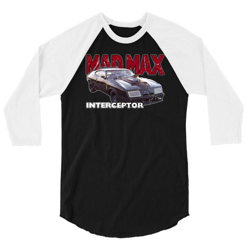 Mad Max Interceptor Ideal Birthday Gift Or Present 3/4 Sleeve Shirt | Artistshot
