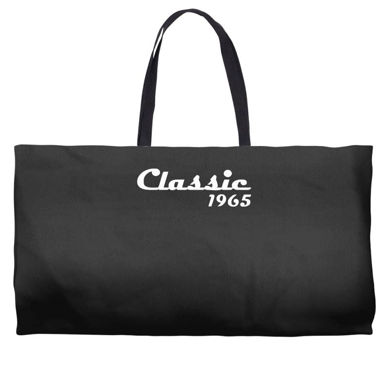 Made In 1965classic Mens 50th Birthday Gift Dad 50 Yearpresent Weekender Totes