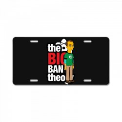 funny big bang theory sheldon, ideal gift or birthday present. License Plate | Artistshot