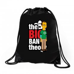 funny big bang theory sheldon, ideal gift or birthday present. Drawstring Bags | Artistshot