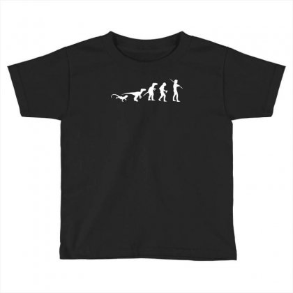 Icke Evolution T Shirt   Funny Toddler T-shirt Designed By Mdk Art