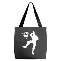 fortnite take the L Tote Bags | Artistshot