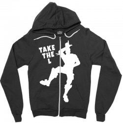 fortnite take the L Zipper Hoodie | Artistshot