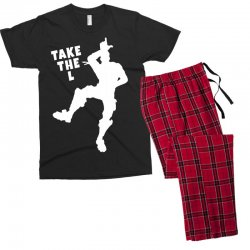 fortnite take the L Men's T-shirt Pajama Set | Artistshot