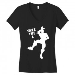 fortnite take the L Women's V-Neck T-Shirt | Artistshot