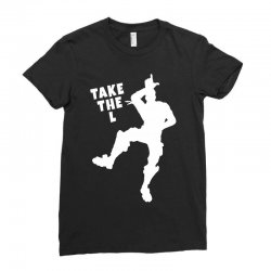 fortnite take the L Ladies Fitted T-Shirt | Artistshot