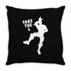 fortnite take the L Throw Pillow | Artistshot