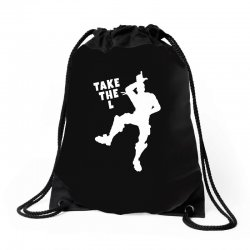 fortnite take the L Drawstring Bags | Artistshot