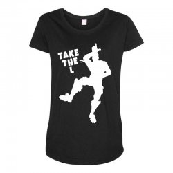 fortnite take the L Maternity Scoop Neck T-shirt | Artistshot