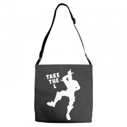 fortnite take the L Adjustable Strap Totes | Artistshot