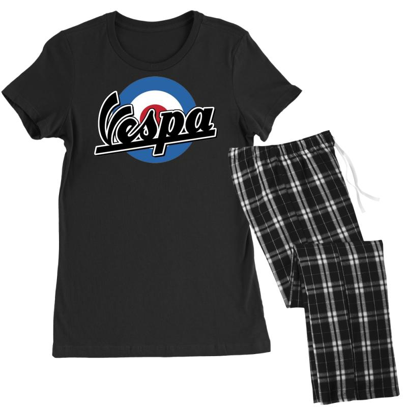 Vespa Target Ideal Birthday Present Or Gift Womens Pajamas Set