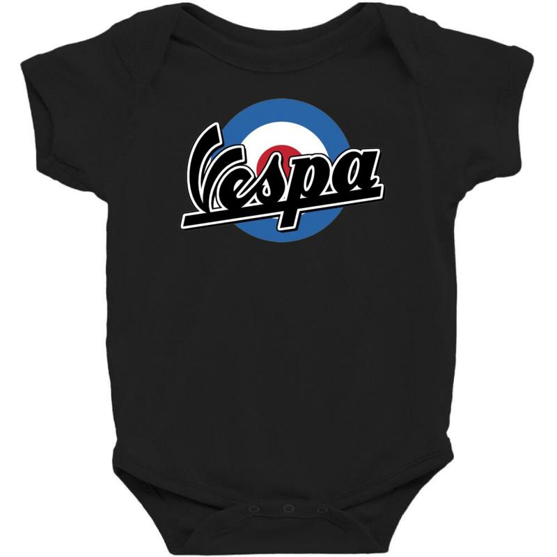 Vespa Target Ideal Birthday Present Or Gift Baby Bodysuit