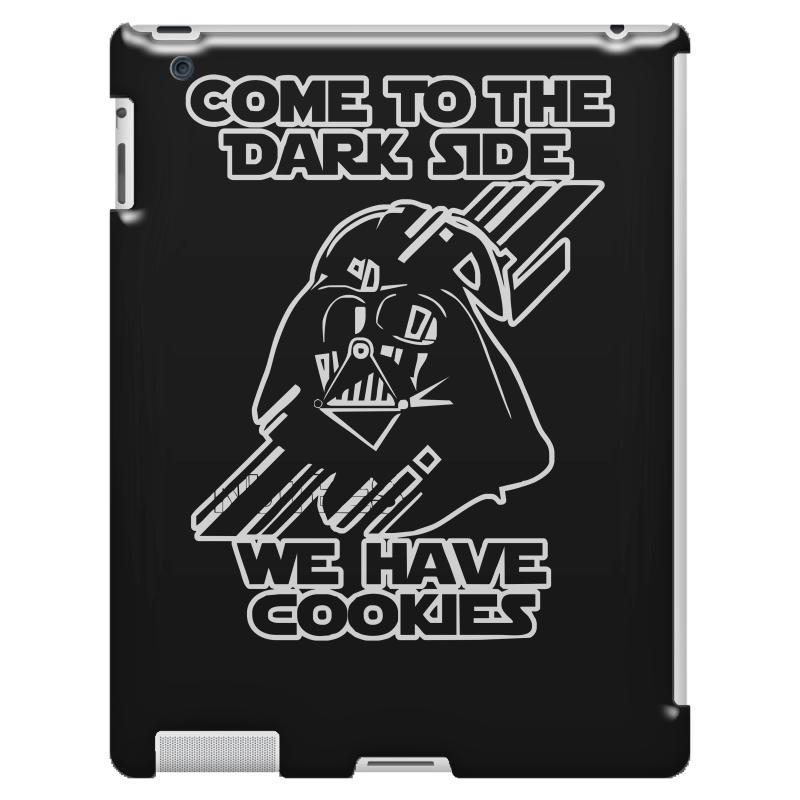 715ffc522 Custom Come To The Dark Side We Have Cookies Funny Ipad 3 And 4 Case ...