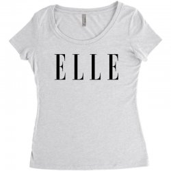 elle Women's Triblend Scoop T-shirt | Artistshot