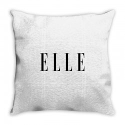 elle Throw Pillow | Artistshot
