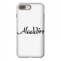 aladdin black logo iPhone 8 Plus | Artistshot