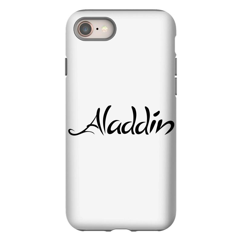 Aladdin Black Logo Iphone 8 Case | Artistshot