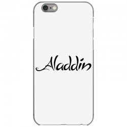 aladdin black logo iPhone 6/6s Case | Artistshot