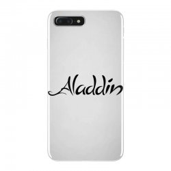 aladdin black logo iPhone 7 Plus Case | Artistshot