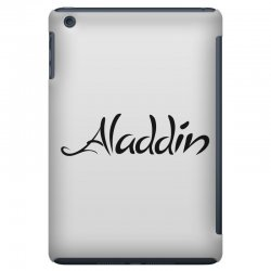 aladdin black logo iPad Mini Case | Artistshot