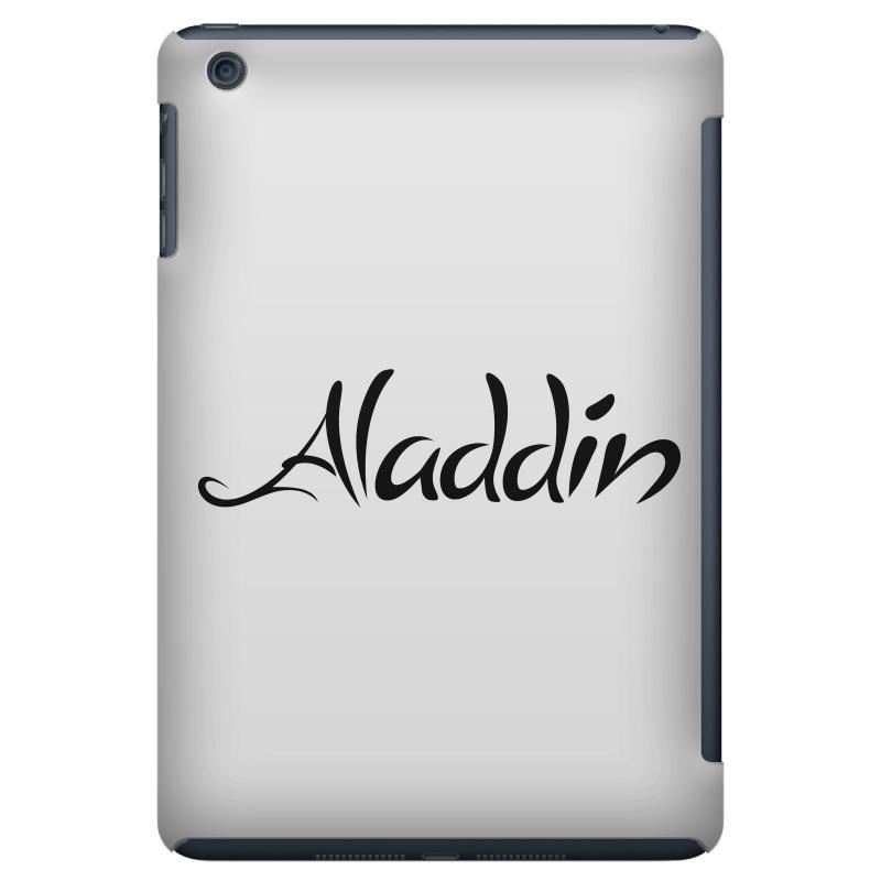 Aladdin Black Logo Ipad Mini | Artistshot
