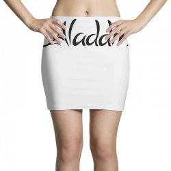 aladdin black logo Mini Skirts | Artistshot