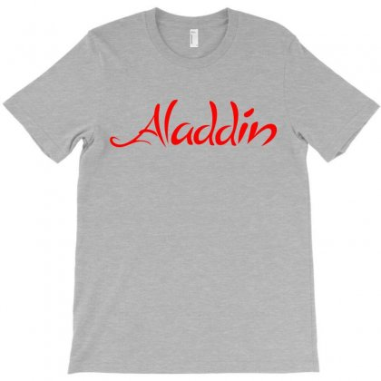 Aladdin Logo T-shirt Designed By Meza Design