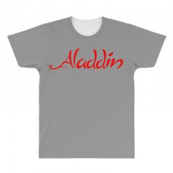 aladdin logo All Over Men's T-shirt | Artistshot