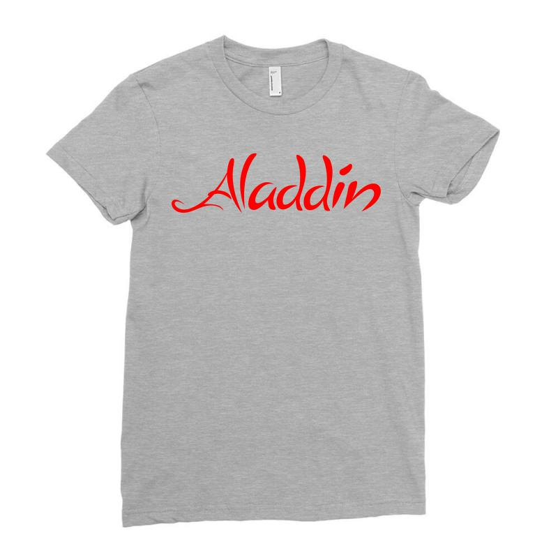 Aladdin Logo Ladies Fitted T-shirt | Artistshot