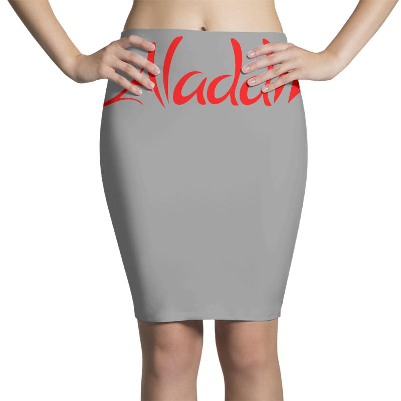 Aladdin Logo Pencil Skirts | Artistshot
