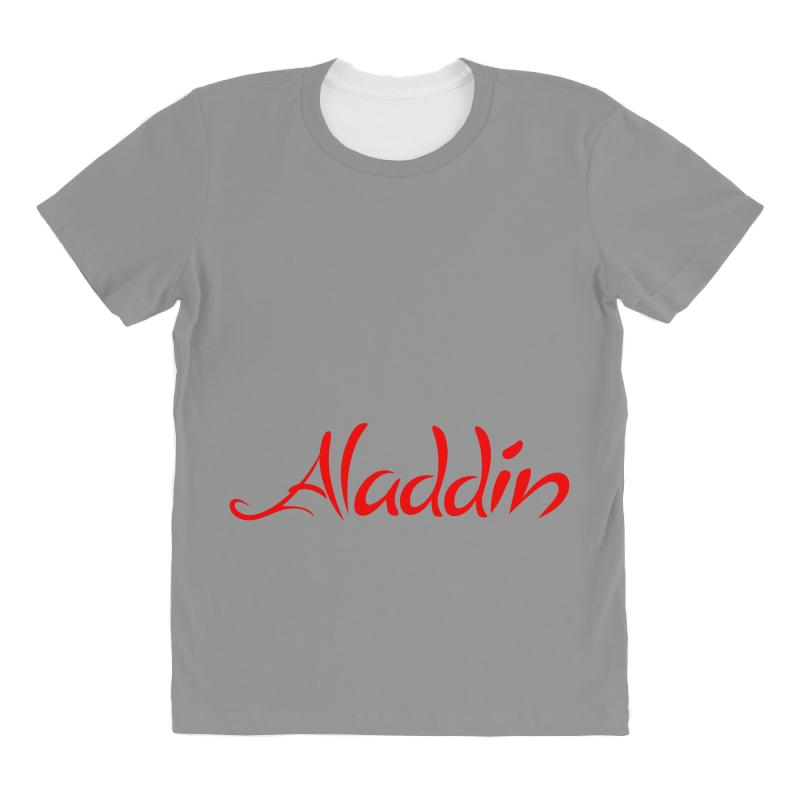 Aladdin Logo All Over Women's T-shirt | Artistshot