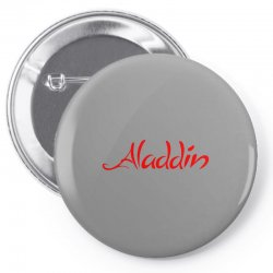 aladdin logo Pin-back button | Artistshot