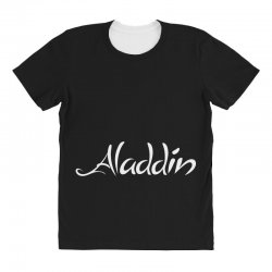 aladdin white logo All Over Women's T-shirt | Artistshot