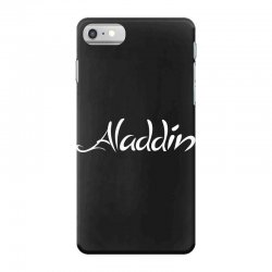 aladdin white logo iPhone 7 Case | Artistshot