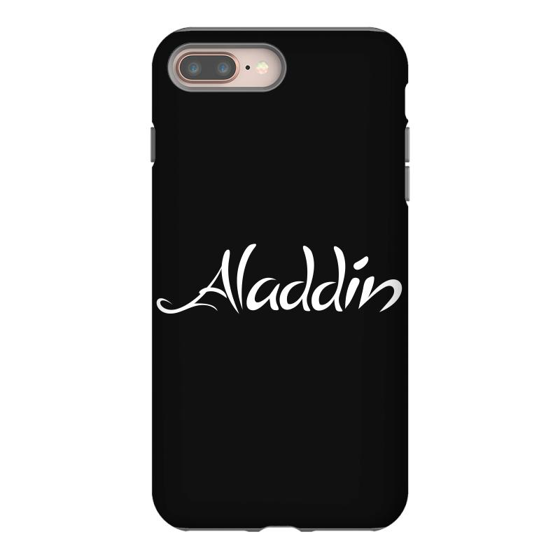 Aladdin White Logo Iphone 8 Plus | Artistshot
