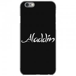 aladdin white logo iPhone 6/6s Case | Artistshot