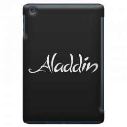 aladdin white logo iPad Mini Case | Artistshot