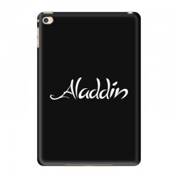aladdin white logo iPad Mini 4 Case | Artistshot