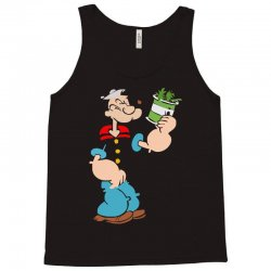 popeye spinach retro mens funny Tank Top | Artistshot