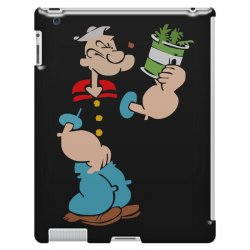 popeye spinach retro mens funny iPad 3 and 4 Case | Artistshot