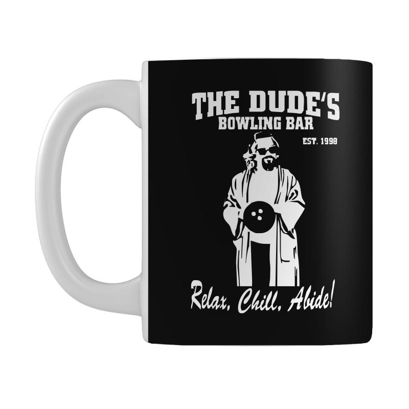 The Big Lebowski Homage Mug  By Artistshot
