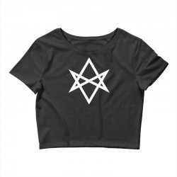 thelema sign Crop Top | Artistshot