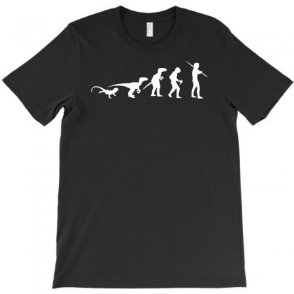 Icke Evolution T-shirt Designed By Mdk Art