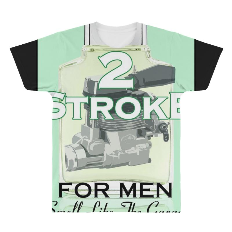 2 Stroke Aftershave Ideal Birthday Gift Present All Over Mens T Shirt