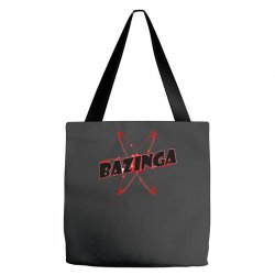 bazinga logo inspired by the big bang theory ideal birthday gift Tote Bags | Artistshot